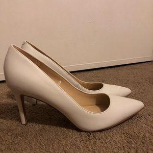 Marc Fisher White Heels